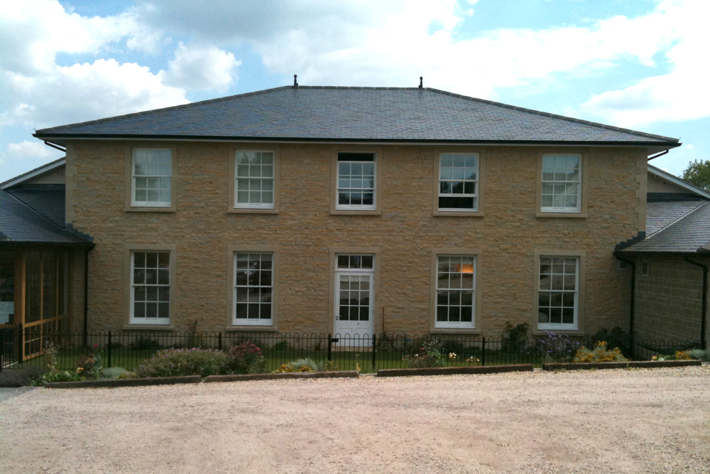 Sherborne Stone sawn and split stone