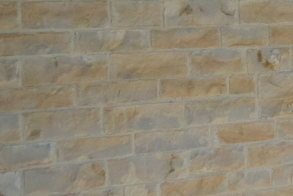 Sherborne Stone sawn and split wall