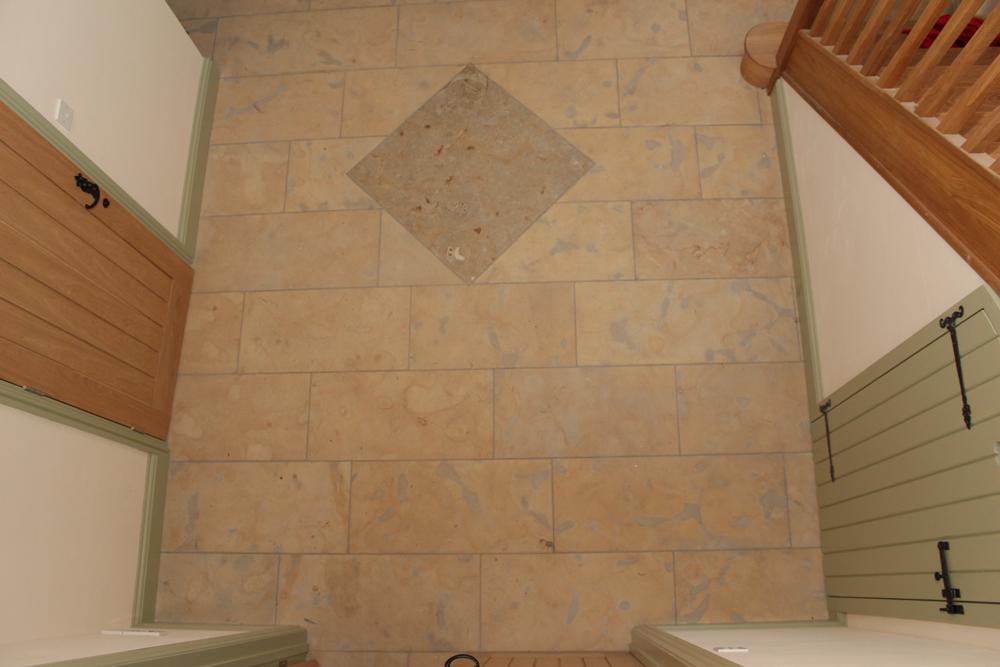 Sherborne Stone floor tiles