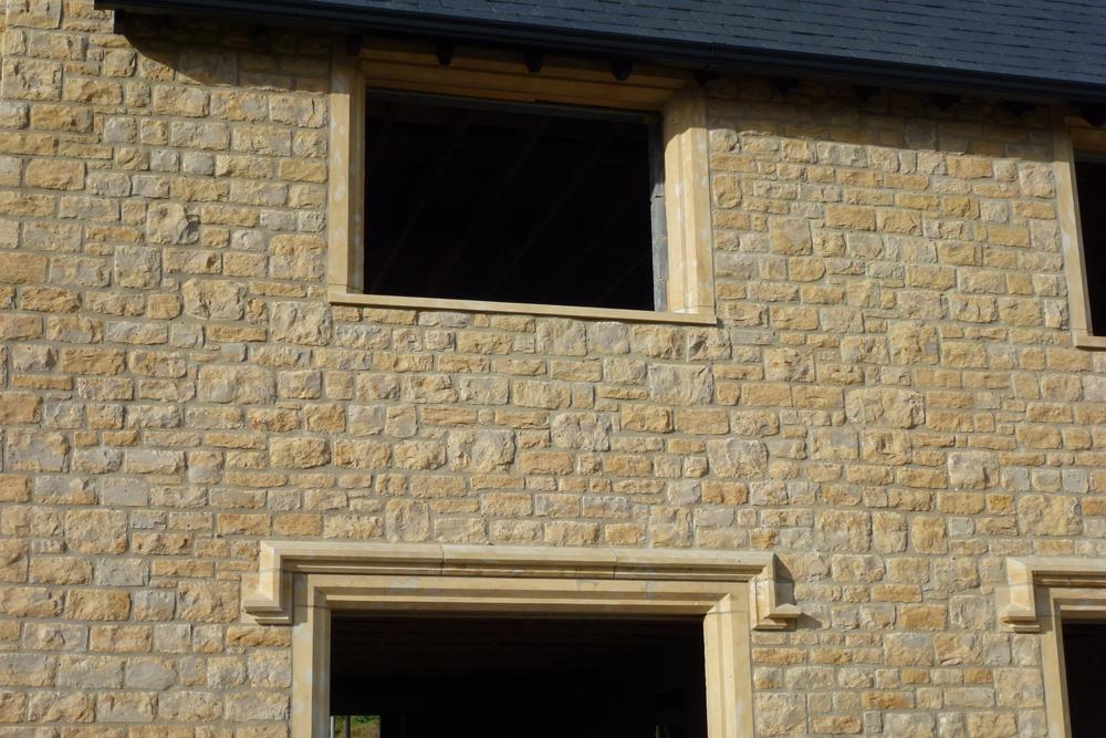 Sherborne Stone masonry detail