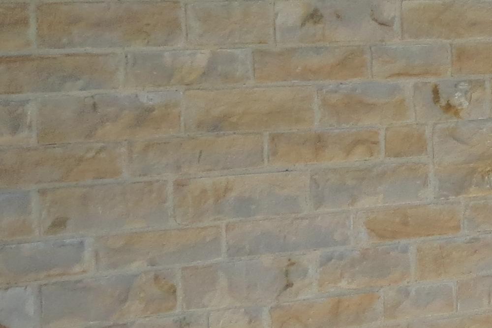 Sherborne Stone sawn and split wall