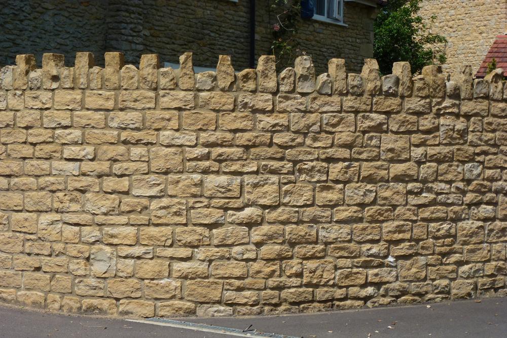 Sherborne Stone walling