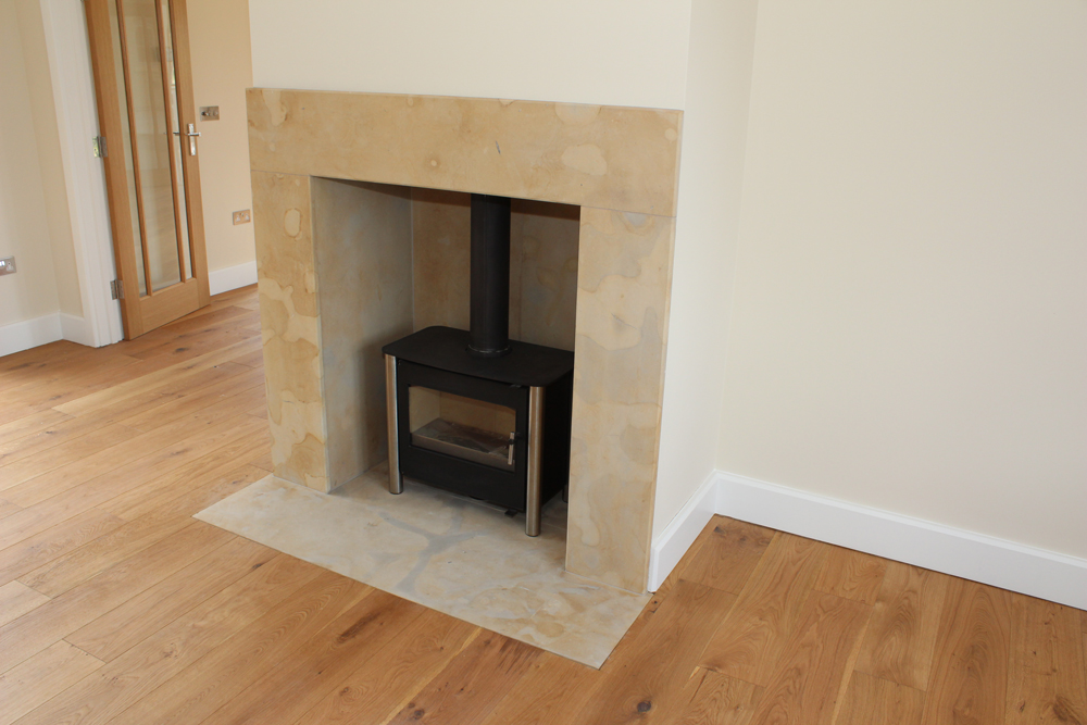 Sherborne Stone fireplace